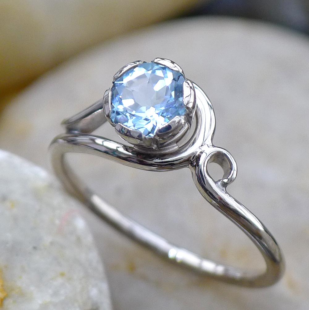 wedding rings with aquamarine aquamarine wedding rings Wedding rings with aquamarine Aquamarine Ring