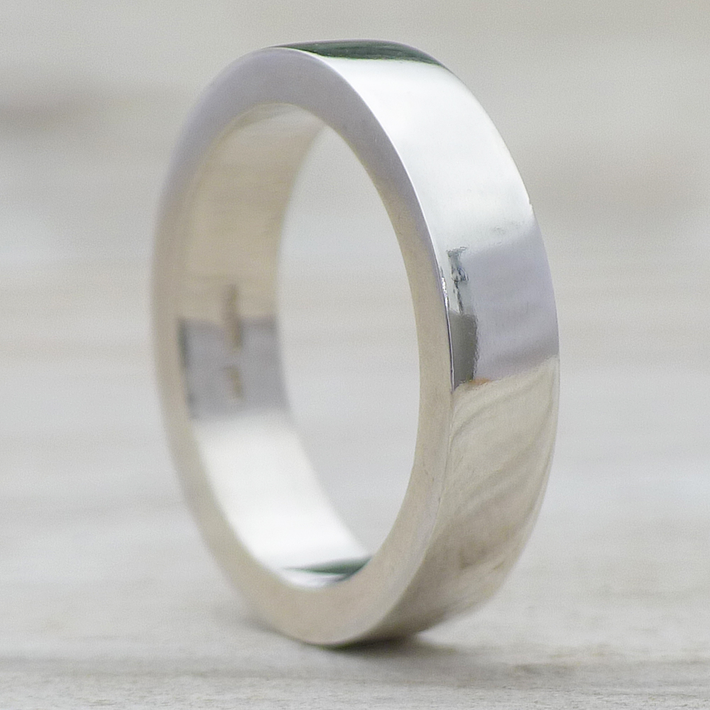Men's Chunky Silver Ring in Sterling Silver