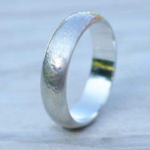 Wide Men's Wedding Ring