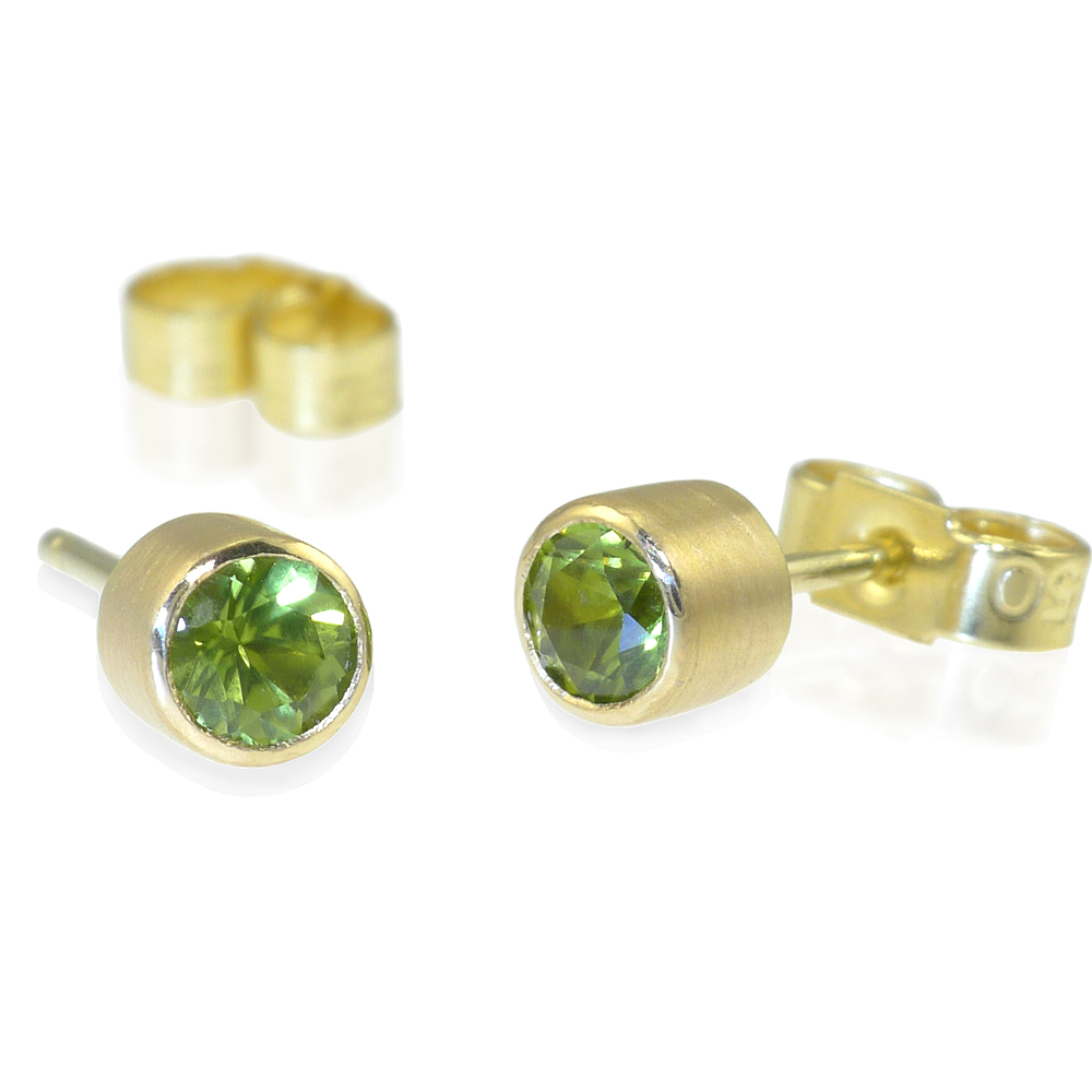 gold mcdonough white stud kiki jewellery earrings peridot image grace amp