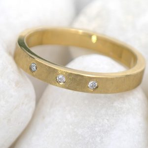 Urban Diamond Wedding Ring