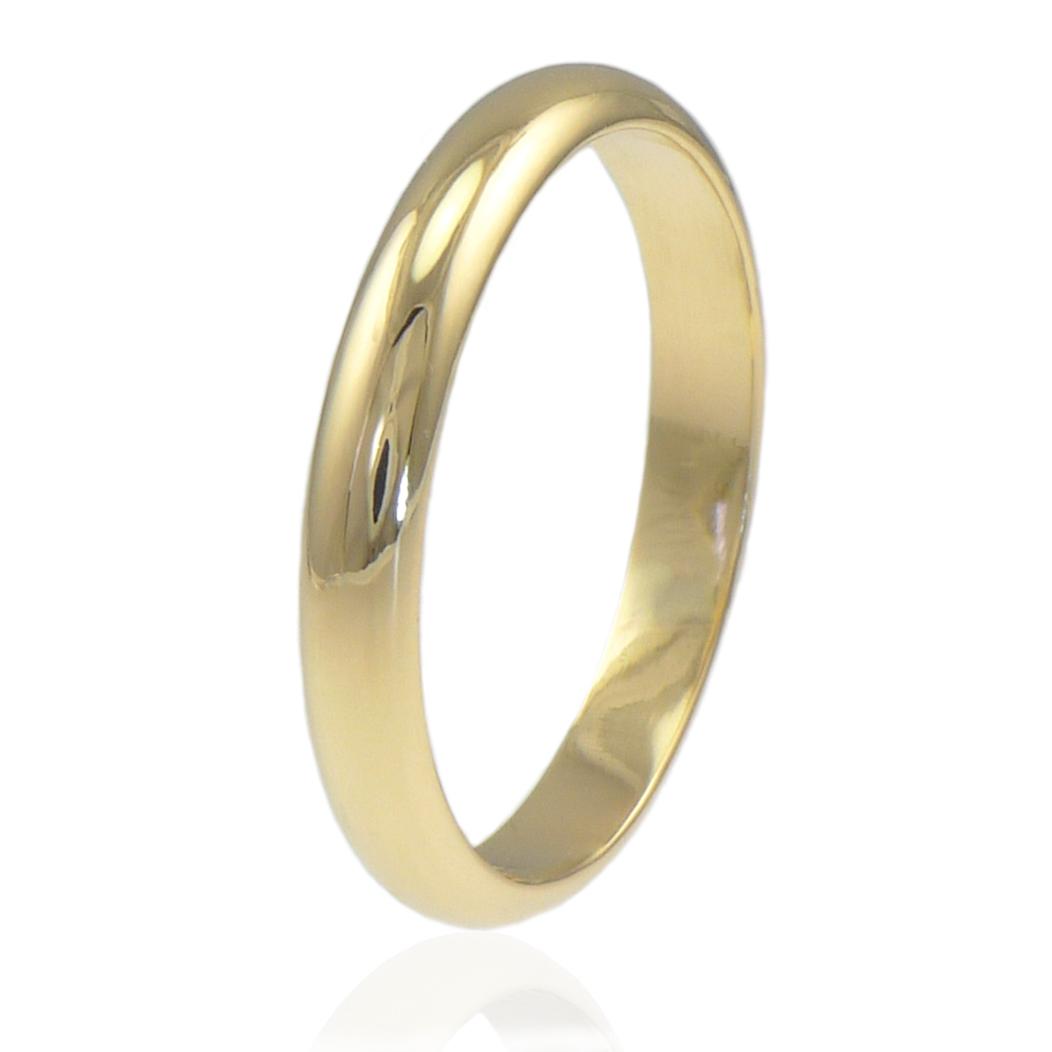 Classic Wedding Ring In 18ct Gold Or Platinum
