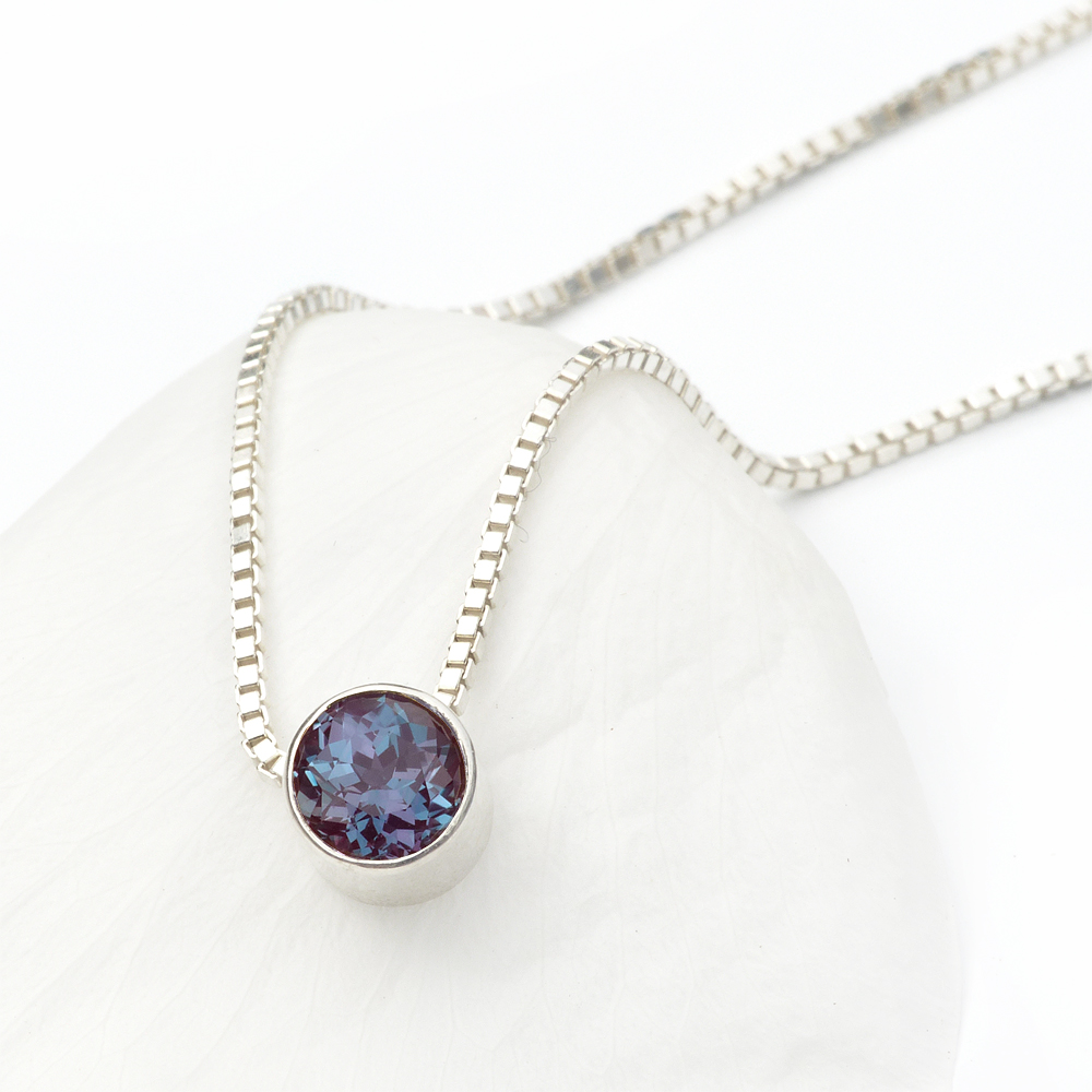 june necklace birthstones pendant birthstone glass l necklaces gems