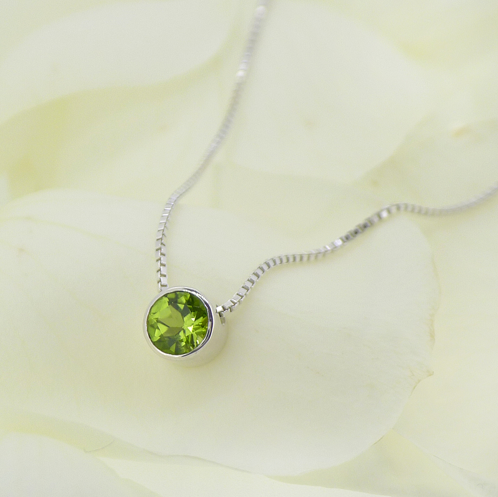 original necklace august peridot lilia birthstone pendant liliandesigns nash jewellery product by