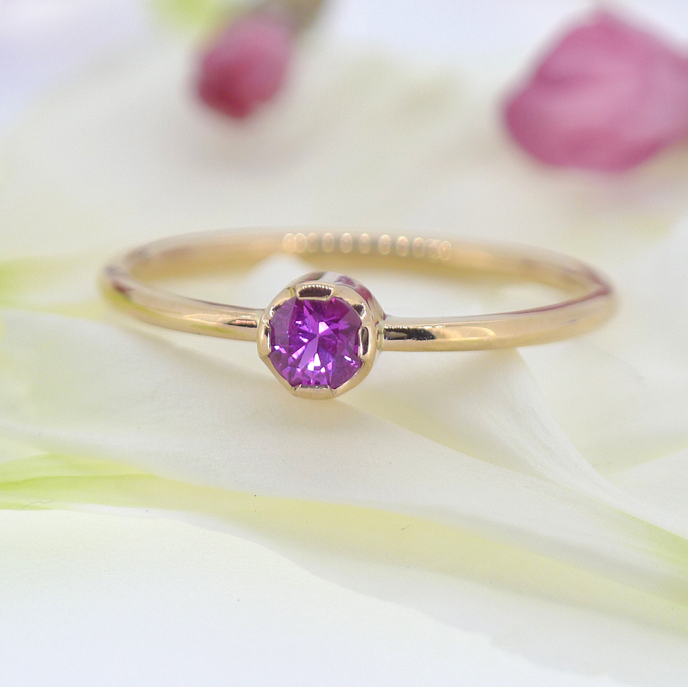 ring image si white rani wedding gemstone product engagement diamond gold rings h pink sapphire and