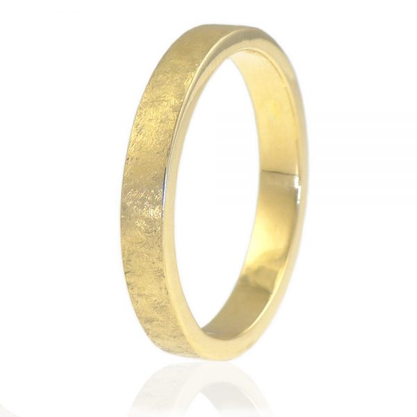 Urban Wedding Ring in 18ct Gold