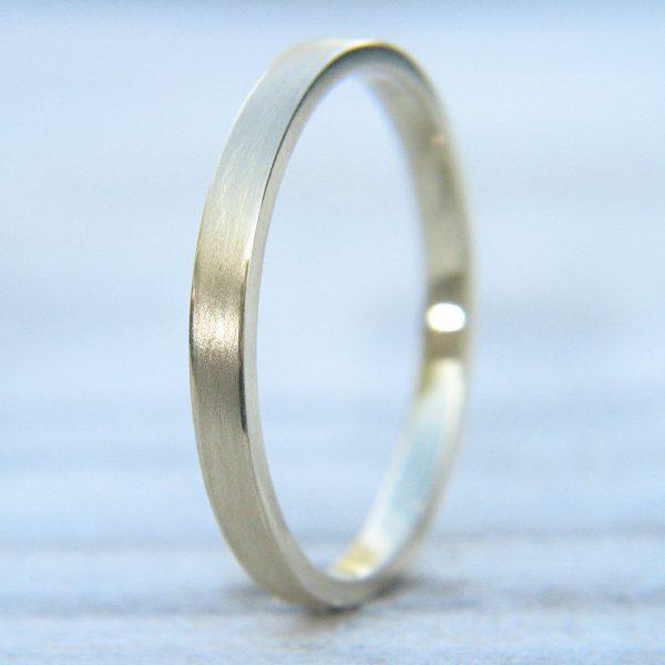 Textured Gold Wedding Ring