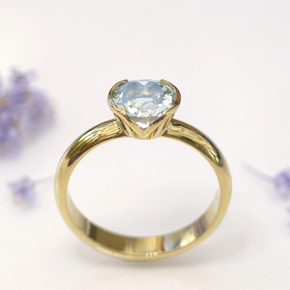 Blue Diamond Weding Rings Sets 04 - Blue Diamond Weding Rings Sets