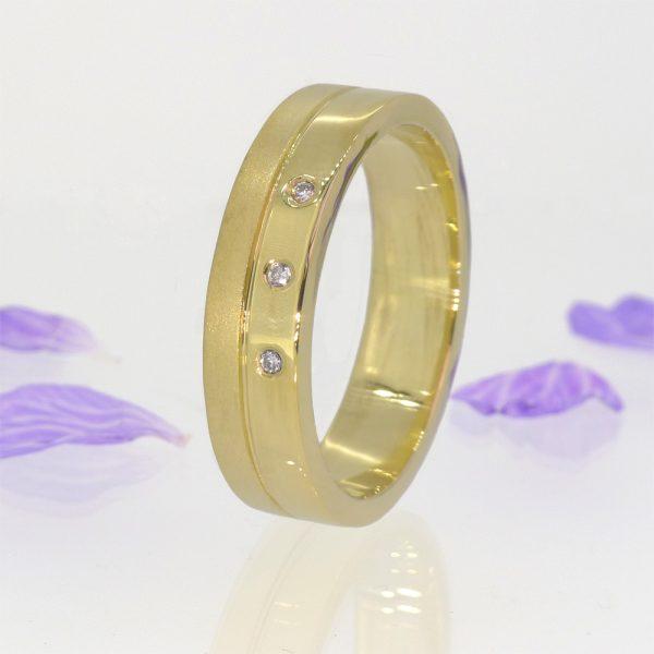 Men's Contemporary Diamond Ring