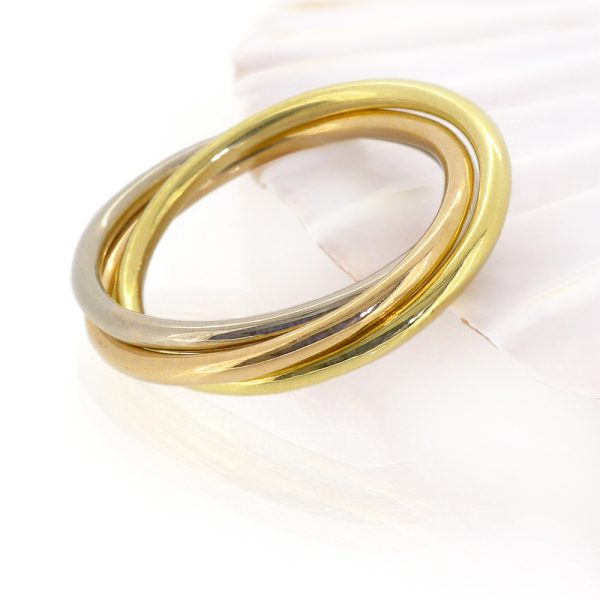 Trinity Ring in 18ct Gold
