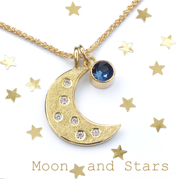 Lilia Nash Moon and Stars Ethical Jewellery Collection