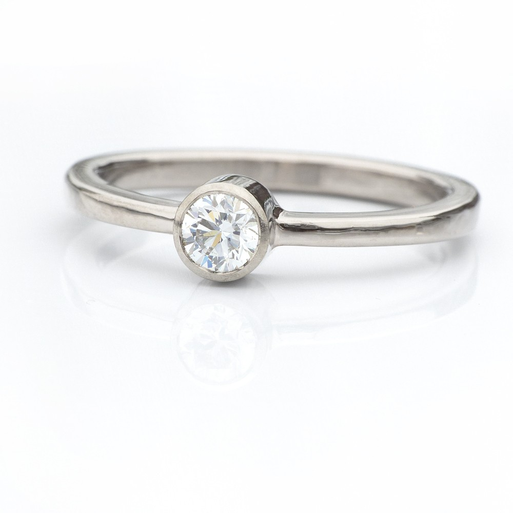 Ethical Diamond Engagement Ring