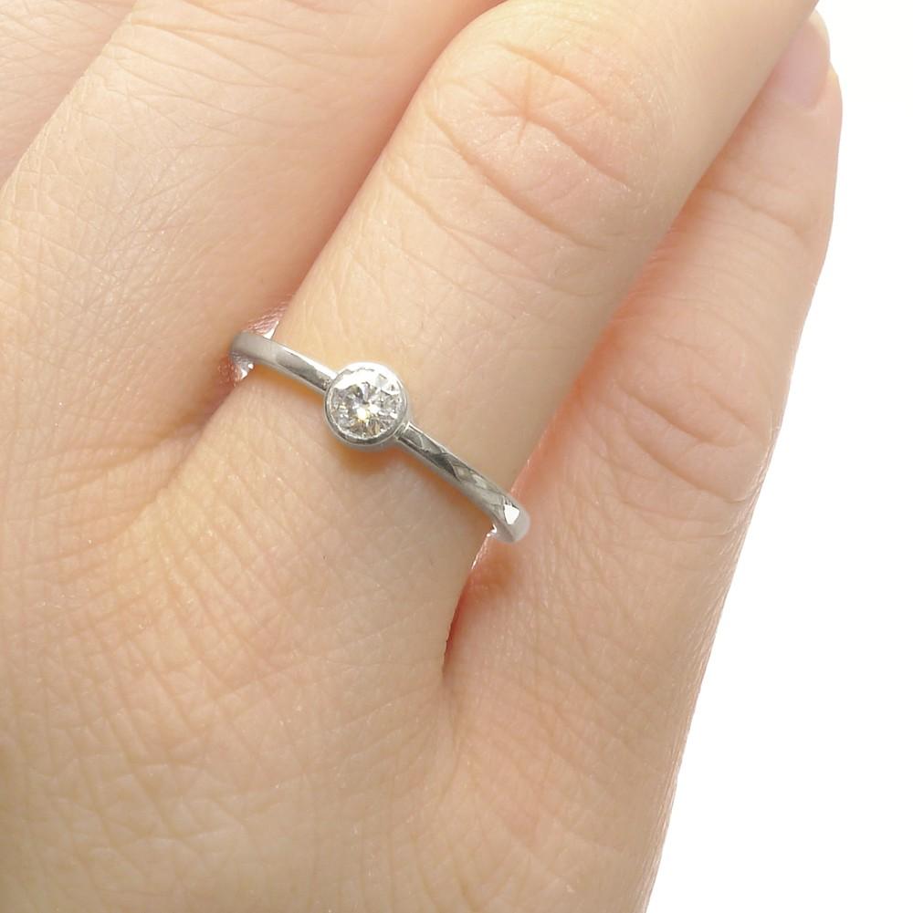 Ethical Diamond Engagement Ring