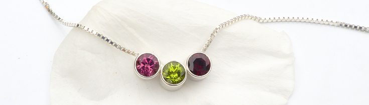 Ethical Birthstone Jewellery by Lilia Nash
