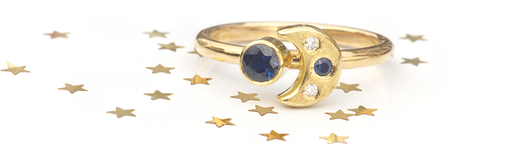 Lilia Nash Ethical Jewellery Moon & Stars Collection
