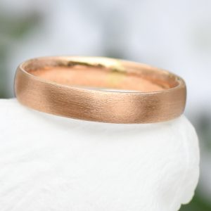 4mm comfort fit 18ct gold ring