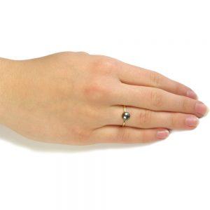 pearl stacking ring