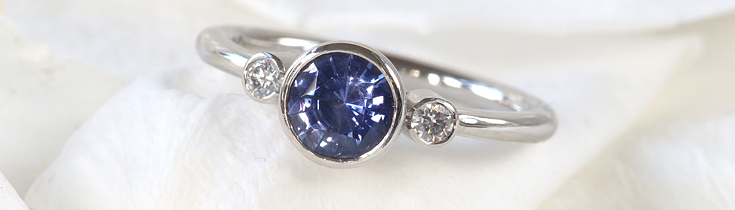 sapphire engagement ring banner