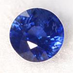 Blue sapphire 5.5mm