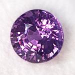 purple sapphire 5.0mm