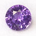 purple sapphire 5.2mm