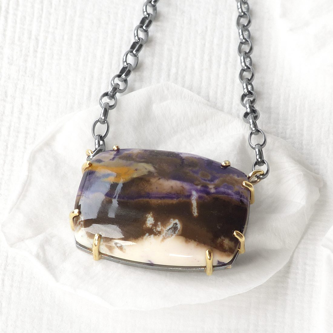 Tiffany Stone Necklace