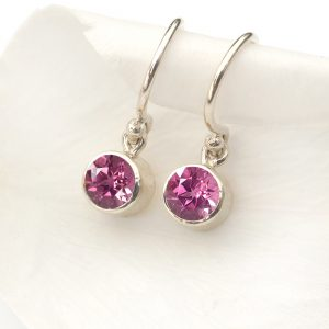 october birthstone earrings