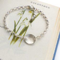 petal charm bracelet
