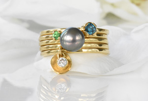 Lilia Nash Stacking Rings