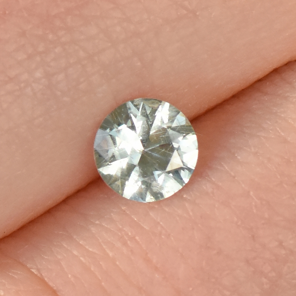 fair trade mint green sapphire
