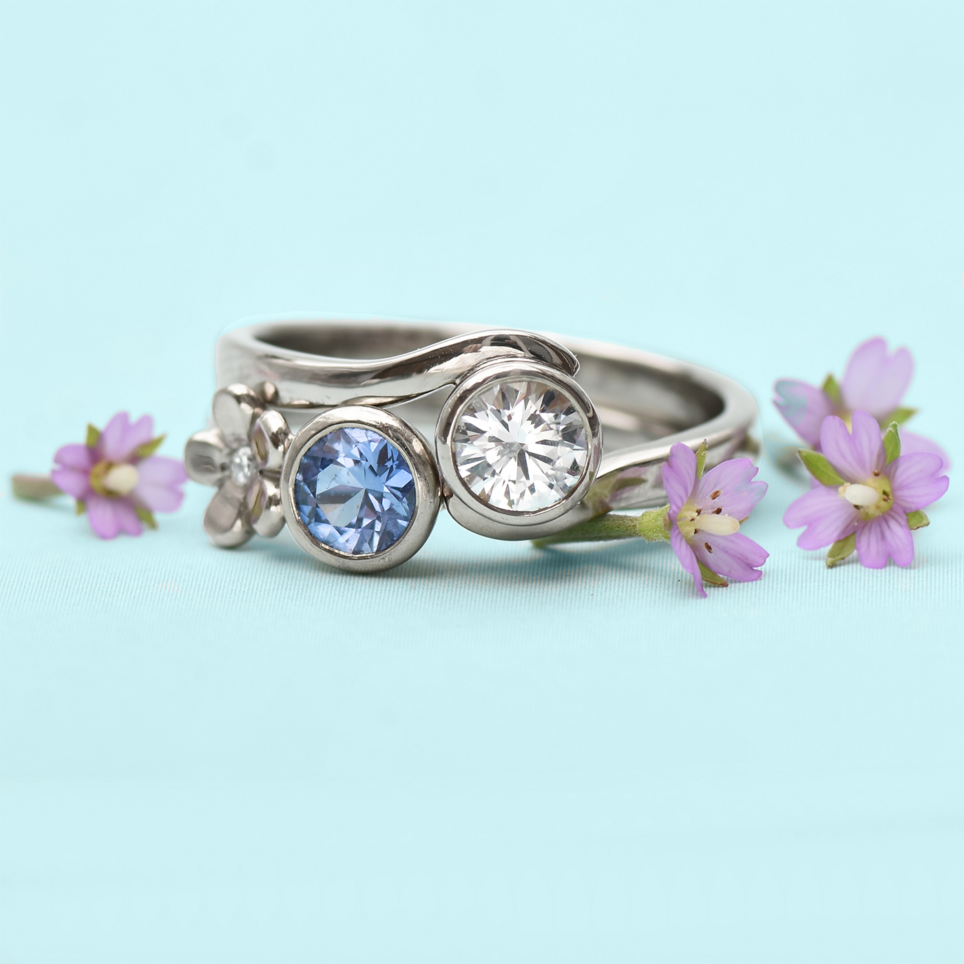 Design Your Own Sapphire Ring Online