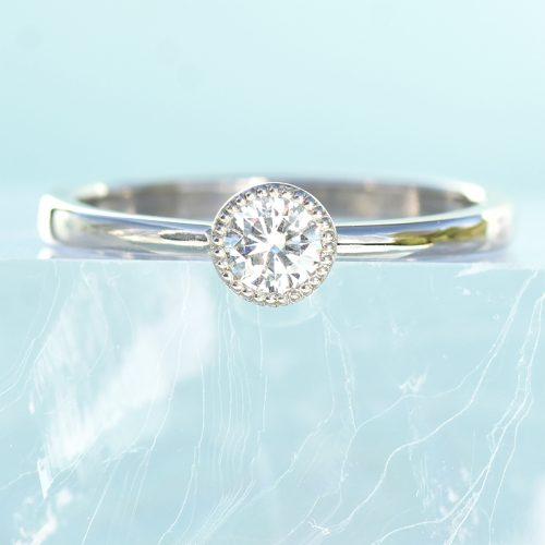 Lilia Nash Petite Solitaire Engagement Ring