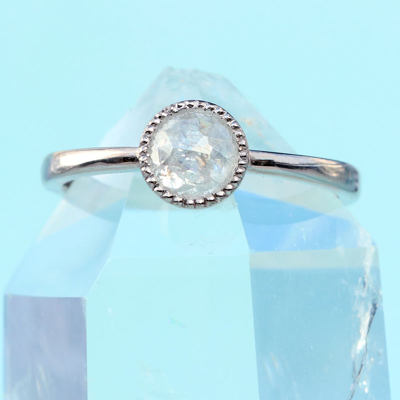 salt pepper diamond ring