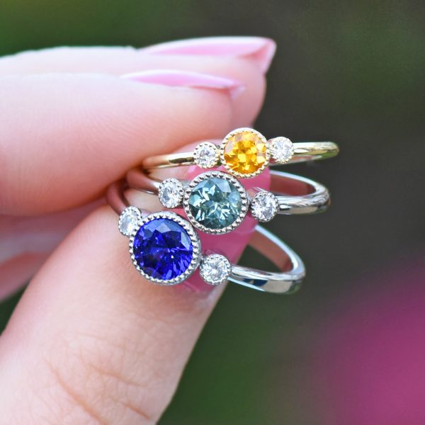 Lilia Nash Trilogy Engagement Rings - Customisable Design