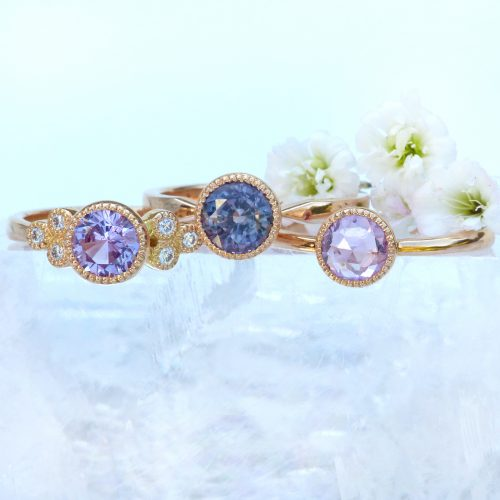 Lilia Nash specialises in the creation of bespoke engagement rings using ethical gold and fair trade diamonds, sapphires and other gemstones.