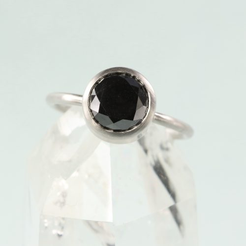 black diamond engagement-ring