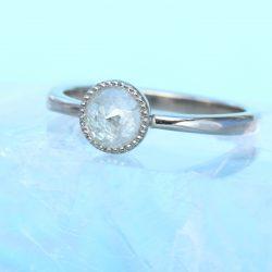 icy diamond engagement ring