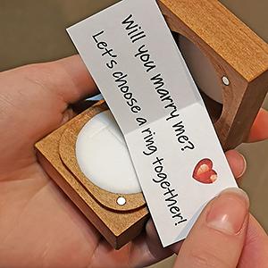 choose engagement ring together