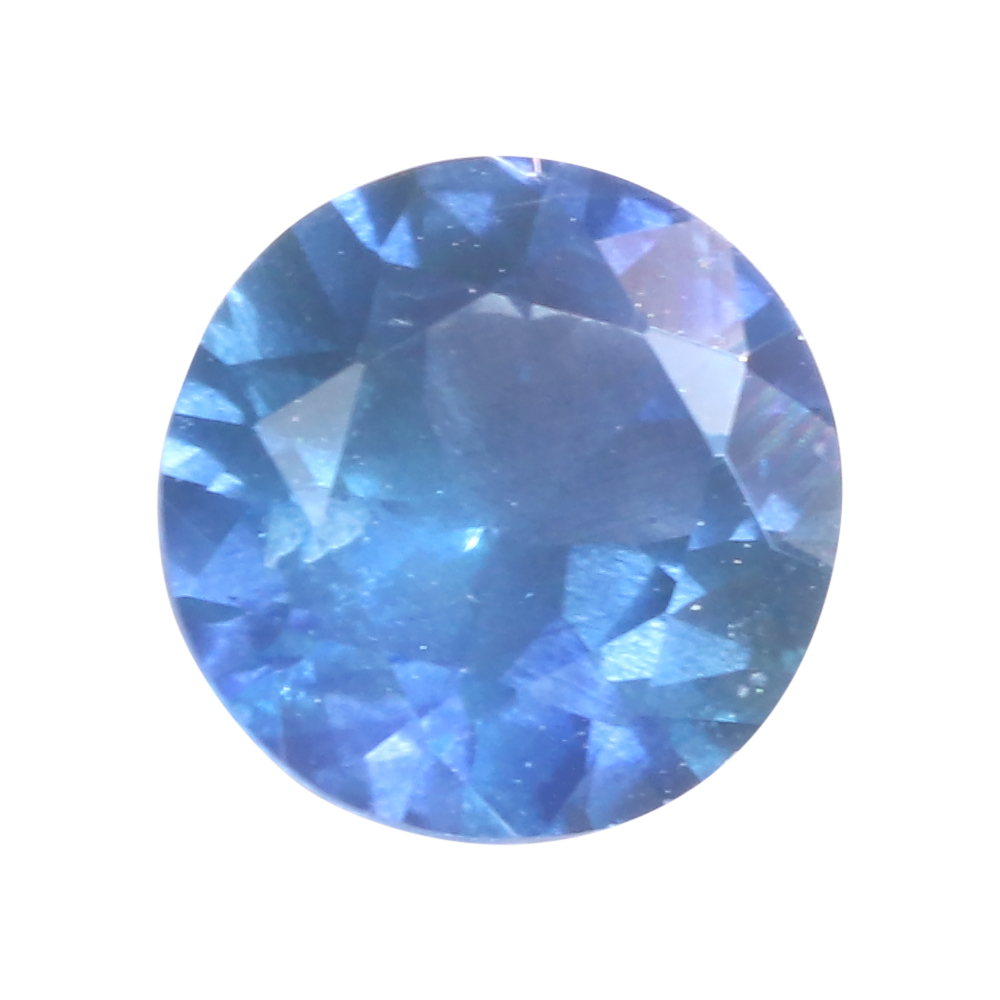 sri lankan powder blue sapphire 5mm 0.65ct