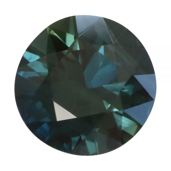 Fair Trade Australian Parti Sapphire, 7.3mm, 1.49 carats