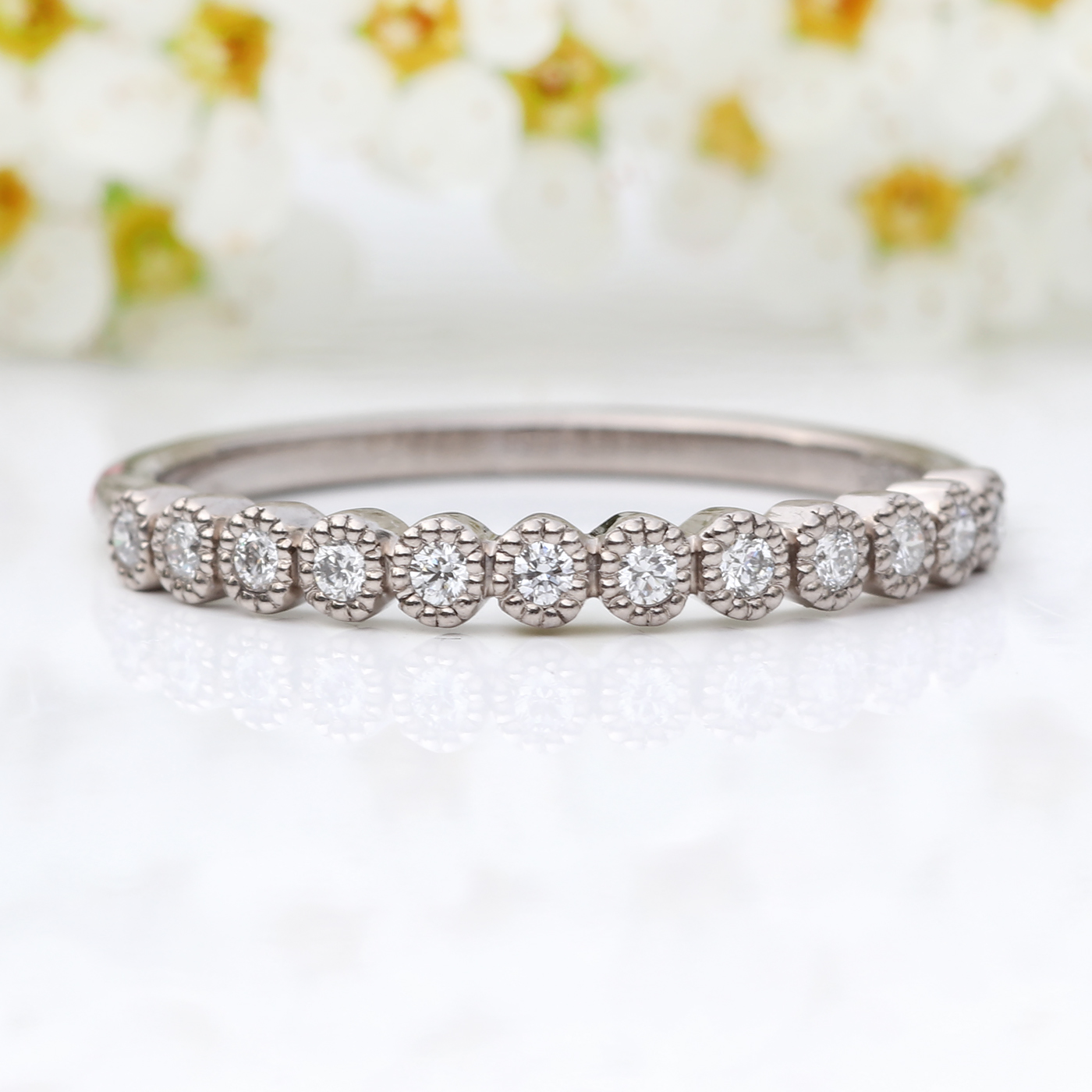 d59bb3344fdf0 18ct Gold or Platinum Ethical Diamond Eternity Ring