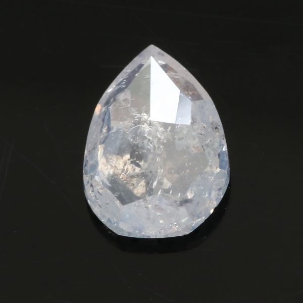 1.39 Ct Fair Trade Salt and Pepper Diamond - Lilia Nash Bespoke