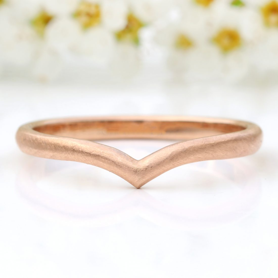 wishbone wedding ring