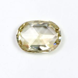 large champagne oval diamond